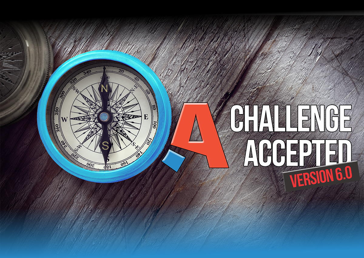 QA: Challenge Accepted - a software testing conference from professionals for professionals